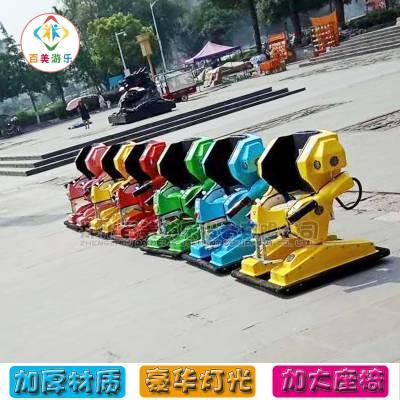 广场站立行走机器人儿童机器人行走车全场欢呼声不断