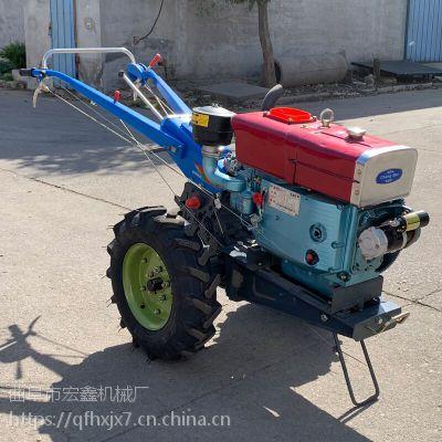 8-22马力手扶拖拉机图片 多用途手扶挠地机 大马力手扶拖拉机厂家