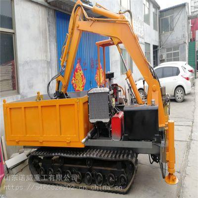 诺威重工36KW自动履带式随车挖厂家零售