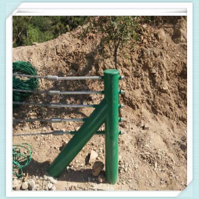 公路钢索护栏 六索缆绳护栏 钢索护栏报价