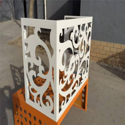 昆明氟碳烤漆镂空雕花铝单板亚博app官方 厂家直销 镂空木纹铝单板天花