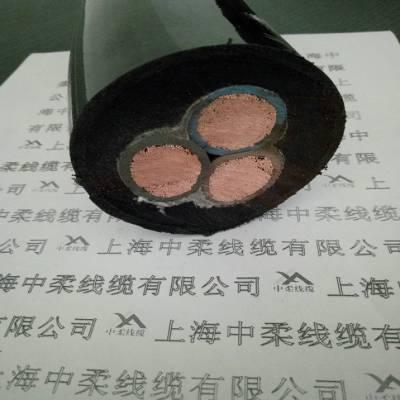 上海中柔生产厂家TRVVP聚氨酯耐弯曲抗拉卷筒电缆