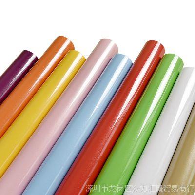 加厚防水纯色珠光烤漆pvc壁纸自粘墙纸家具翻新贴纸衣柜橱柜子门