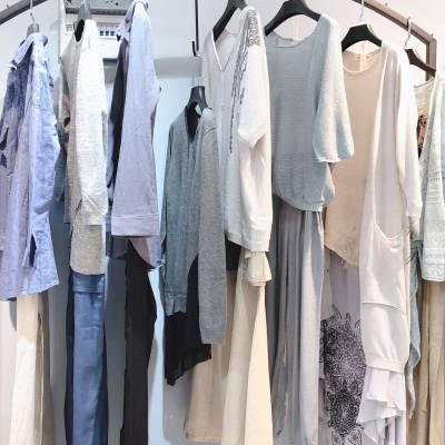 女装货源大版棉麻女装品牌佳菲特满19夏折扣女装批发