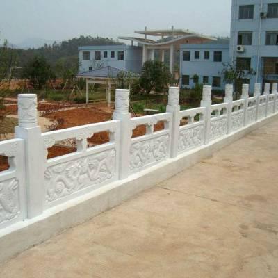加工石栏板别墅栏杆新颖石雕加工厂