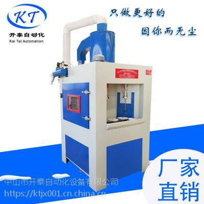 中山喷砂机 开泰厂家供应KT-6989转盘喷砂机 酒瓶自动转盘喷砂机