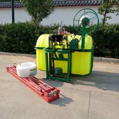 600斤皮带传动拖拉机打药机小麦杀虫除草喷雾器多少钱