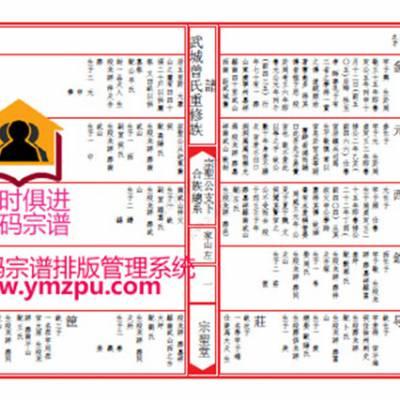 宣纸家谱印刷哪家好-湘西家谱印刷-云码家谱软件