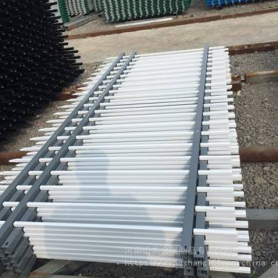 厂家供应 围墙栏杆 铁艺围栏安装定做锌钢护栏来图定做 铁艺栏杆