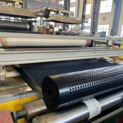 复合三维排水板 长效复合排水板 宝鸡车库凹凸排水板