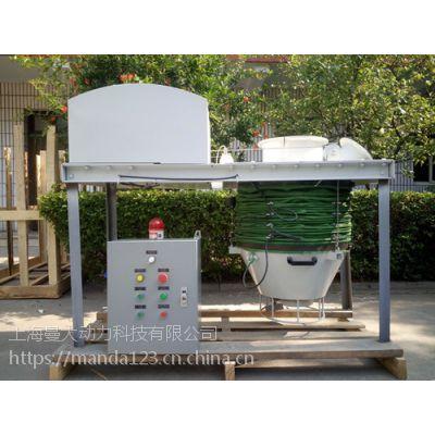 上海曼大集装箱卸车机 粉煤灰散装机 简单装车超值环保高