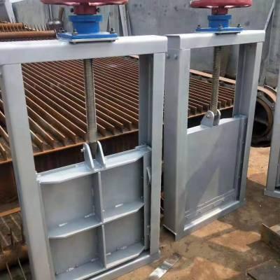 700*700一体式闸门图片 铸铁闸门的安装步骤 可定制