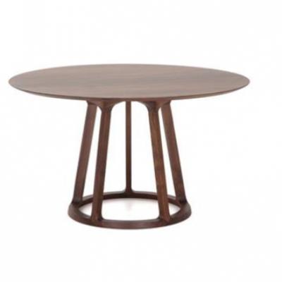 餐厅实木大圆桌定做,酒店包房桌子,木制圆桌款式