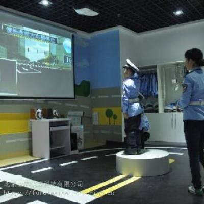 研学旅行基地 生命安全教育 交通馆 交警手势互动