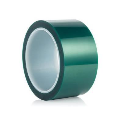 PET绿色硅胶带 绿色高温胶带 电镀焊接保护胶带
