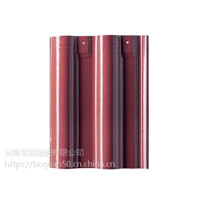山东淄博全瓷彩色琉璃瓦厂家供应:琉璃瓦-持久耐用
