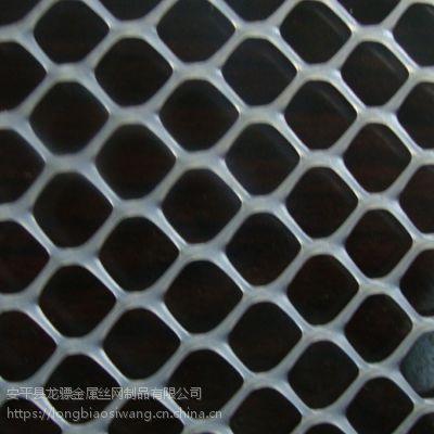 鸭子养殖网 白色地铺网 排粪塑料网