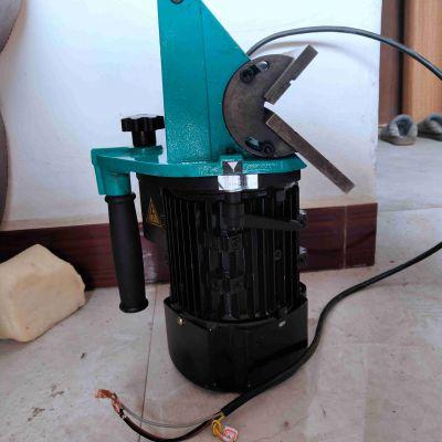 便携式平板坡口机 钢板固定机器移动电动坡口机倒角机