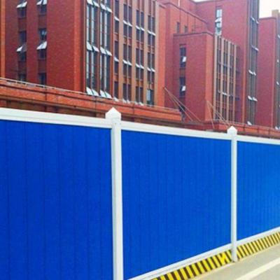 鄂州PVC围挡怎样安装更快捷施工围挡安装有技巧