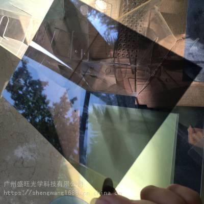 日本三菱茶色防紫外线PC+防雾PC板医学镜片滑雪镜0.7/0.8/1.0/1.5 UPF 50+