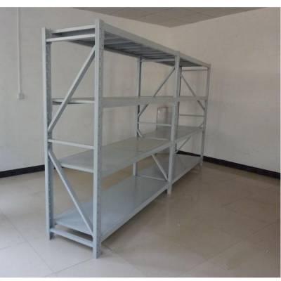 熊猫牌仓储货架福州货架定制 中型层板标准四层货架(厂家直销)