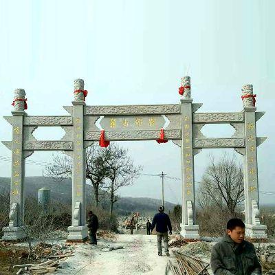 寺院石牌坊与农村石牌坊的区别及作用
