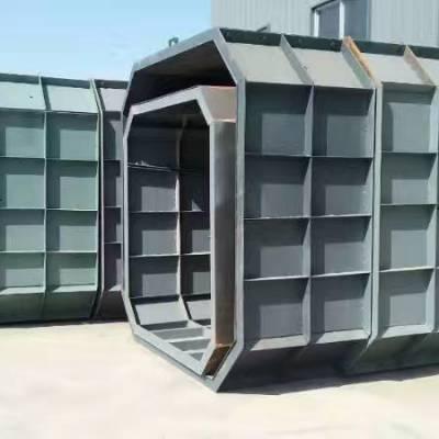 化粪池钢模具 水泥化粪池钢模具 脱模非常简单 非常方便