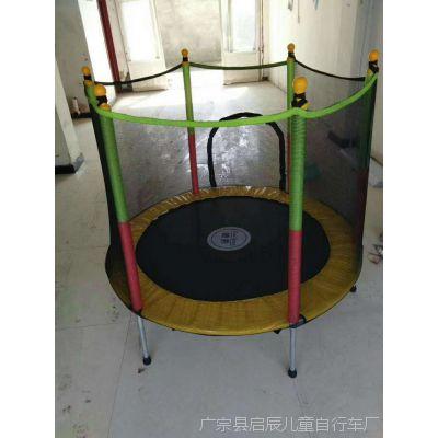 儿童蹦蹦床家用户外成人蹦床室内弹簧跳跳床高护栏健身床厂家直销