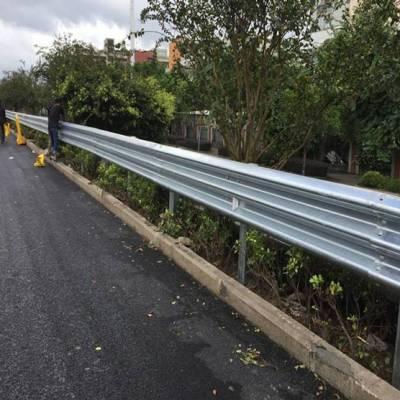 佛山公路护栏价格 单面波形梁护栏 u型防护栏