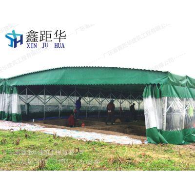 肇庆工厂临时仓库蓬怀集县大型活动场所帐篷自动伸缩雨棚 布哪里专业