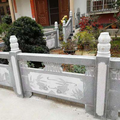 花岗岩栏板哪里便宜-专业石栏杆定做-曲阳县聚隆园林雕塑