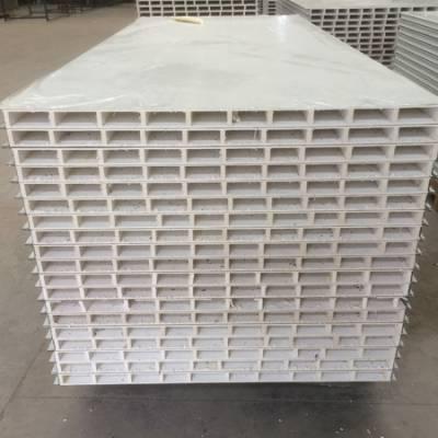 玻镁手工彩钢中空板-彩钢中空板-大定净化彩钢板