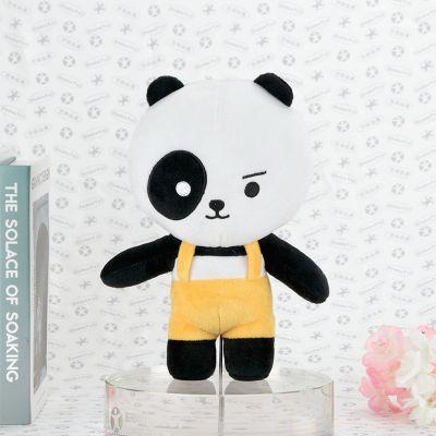 大熊猫公仔玩具定制 动物园林卡通毛绒玩偶 活动促销PP棉玩具娃娃厂家直销 企业吉祥物定制