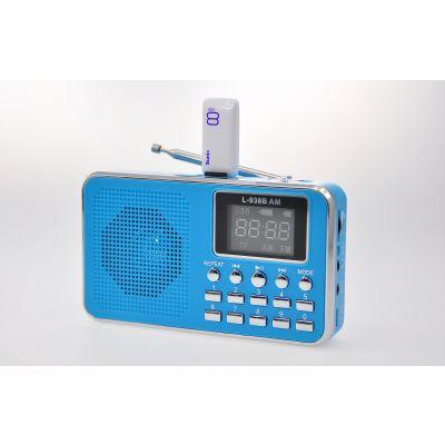 外贸出口L-938BAM 插卡音箱 老年人播放器 评书机 户外晨练