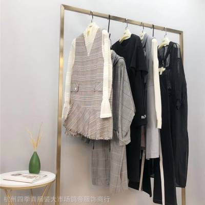 阿莱贝琳国内高端一二线品牌折扣女装2020夏杭州漫天雨走份批发微商货源