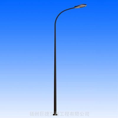 自弯臂LED市电路灯厂家_接电路灯_5米6米7米有库存