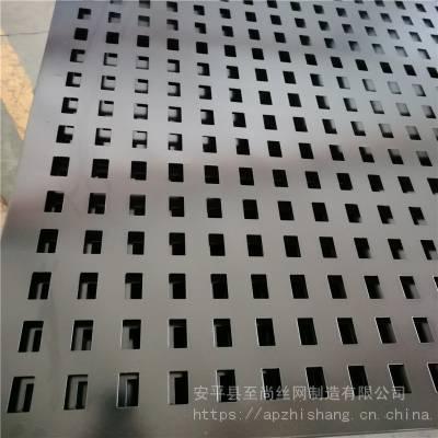 瓷砖展厅展架 冲孔板展具 方孔洞洞板生产厂家