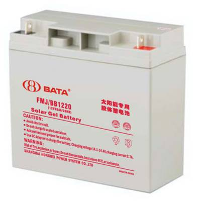 BATA蓄电池 FM/BB1265T 12V65AH/20HR 鸿贝阀控密封式铅酸蓄电池