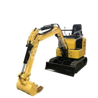 挖沟渠小型挖掘机 市政工程勾机 10小型挖掘机图片 小勾机多少钱