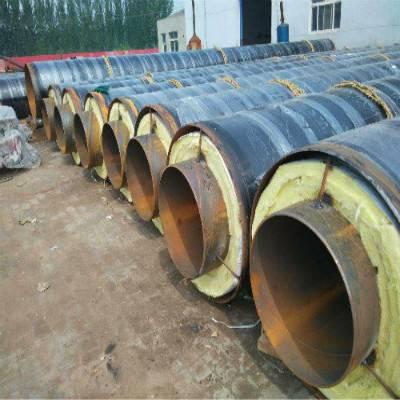 泡沫夹克保温管 管道保温材料厂家 直埋钢套钢蒸气保温管