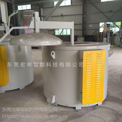 佛山工业炉设备 厂家直销 300公斤熔铝炉 熔铝炉设计 坩埚式保温炉 按要求定制大小