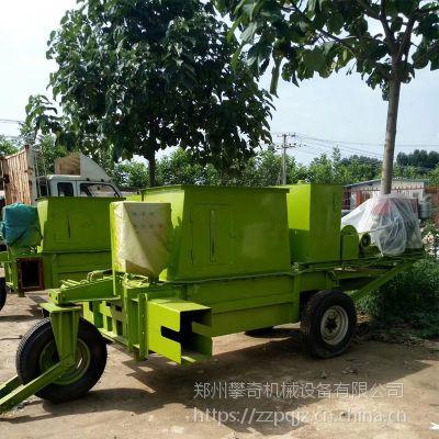 牧草秸秆打包机 卧式养殖液压打包机 青贮打包机
