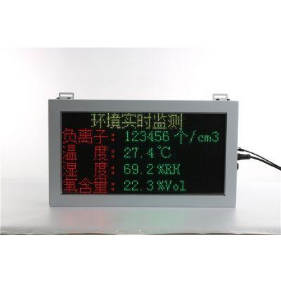 热电厂环保监测展示屏定制-驷骏精密设备工业屏