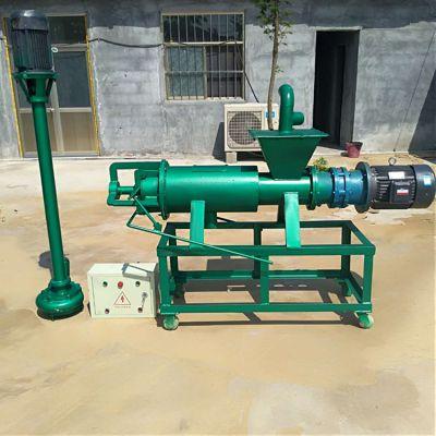 畜禽粪便干湿处理设备 制肥原料有机肥脱水机挤压式粪便脱水机
