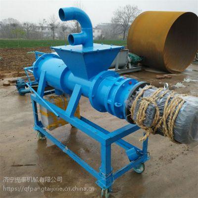 配重锤自由调节干湿度的固液分离机 脱水机货源厂家
