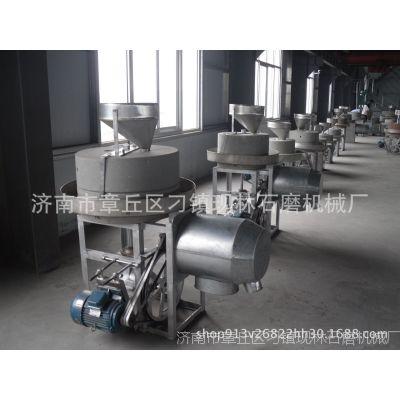 现林石磨      自动商用五谷杂粮磨面机   商用大型石磨机
