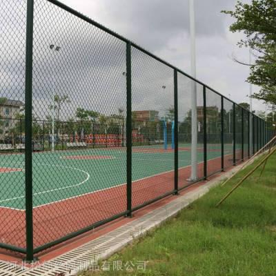 九台区足球场笼式围栏-网球场围网批发价格-体育场围栏图片