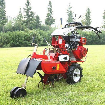 佳鑫大棚整改田园管理机 重量轻小型柴油开荒除草机 大功率蔬菜园旋耕机视频