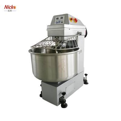 尼科大型和面机商用 50kg大型和面机搅拌机 面粉搅面机揉面机 双动双速和面机