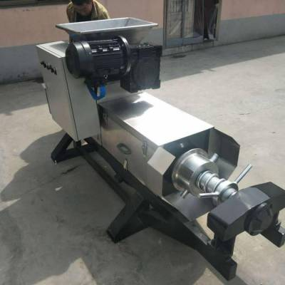 TZYJ350新型葡萄皮渣压榨机 水果榨汁不锈钢压榨机